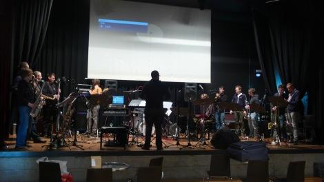 Jazzorchester Vorarlberg mit Clemens Wenger