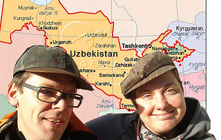 Mieze Medusa & Markus Köhle in Usbekistan