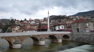 Miljacka, Sarajevo